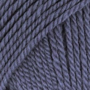 Drops alaska jeansblå uni colour 57