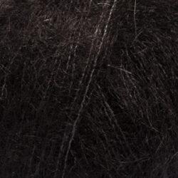 DROPS Kid-Silk svart uni colour 02