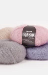 DROPS Kid-Silk enfärgad