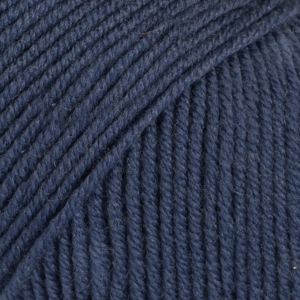 DROPS Baby Merino blå uni colour 30
