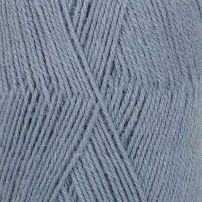 DROPS Flora jeansblå uni colour 13