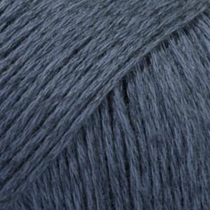 DROPS Bomull-Lin mörk blå uni colour 21