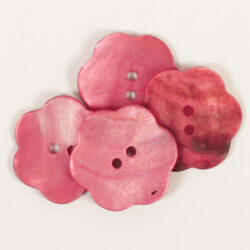Blomma (röd) (25mm)