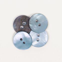 Rund Blå (15 mm)