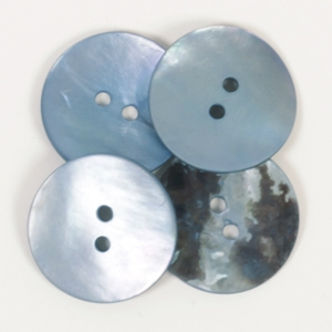 Rund blå (20 mm)