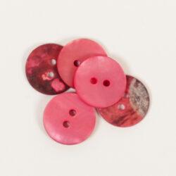 Rund röd (15 mm)