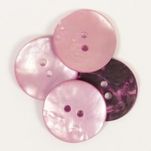 Rund rosa (20 mm)