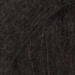 DROPS Brushed Alpaca Silk svart 16