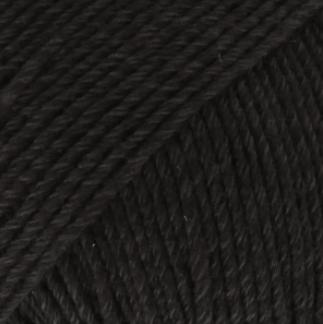 DROPS Cotton Merino svart 2