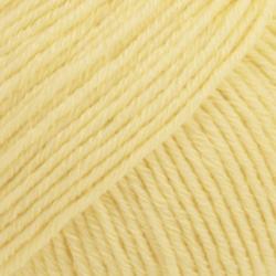 DROPS Cotton Merino vaniljgul 17
