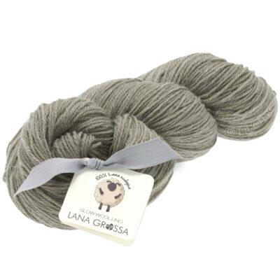 Lana Grossa SLOW WOOL LINO sten grå 5