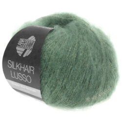 Lana Grossa Silkhair Lusso grön 911