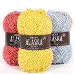 Drops Alaska enfärgad