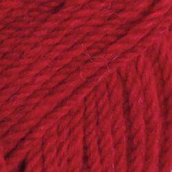 Drops alaska klarröd uni colour 10