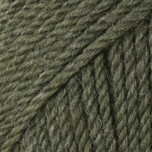 Drops alaska oliv melerad uni colour 51