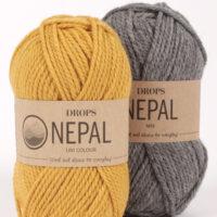 DROPS Nepal enfärgad