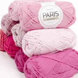 DROPS Paris enfärgad