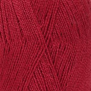 drops lace Röd uni colour 3620