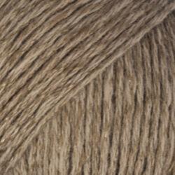 DROP Bomull-Lin brun uni colour 05