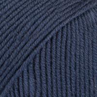 DROPS Baby Merino blå uni colour 30