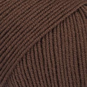 Drops baby merino brun uni colour 18