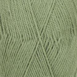 DROPS Flora grön uni colour 15