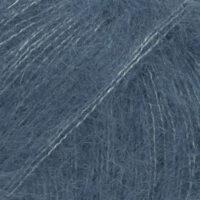 DROPS Kid-Silk jeansblå uni colour 27