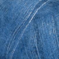 DROPS Kid-Silk koboltblå uni colour 21