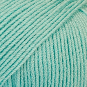 DROPS Baby Merino ljus turkos uni colour 10