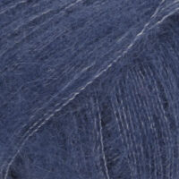 DROPS Kid-Silk marinblå uni colour 28