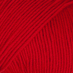 Drops baby merino röd uni colour 16