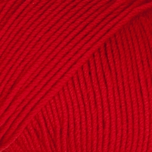 Drops baby merino röd uni colour 16