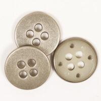 rund stål knapp metall