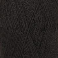 DROPS Flora svart uni colour 06