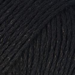 DROPS Bomull-Lin svart uni colour 16