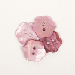Blomma rosa (15 mm)