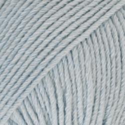 DROPS Cotton Merino isblå 9