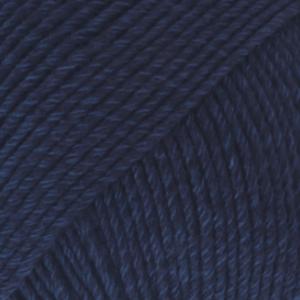 DROPS Cotton Merino marinblå 8