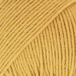 DROPS Cotton Merino senapsgul 15