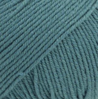 DROPS Cotton Merino stormblå 26
