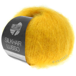 Lana Grossa Silkhair Lusso gul 924